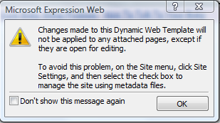 Dynamic Web Changes